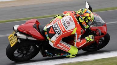 Valentino Rossi, Ducati Team, Silverstone Circuit