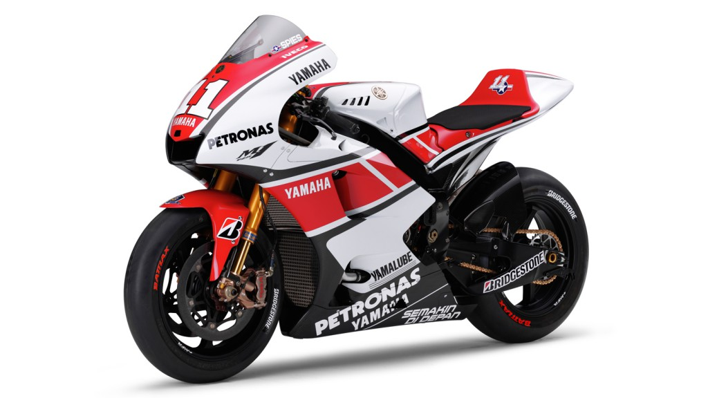 Yamaha YZR-M1 WGP 50th Anniversary, Yamaha Factory Racing