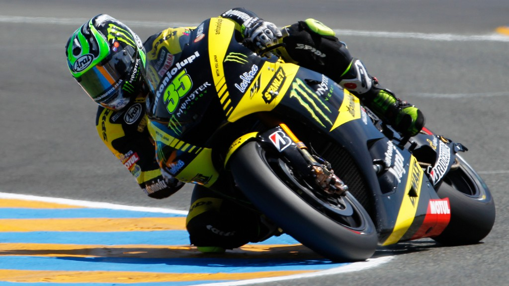 Cal Crutchlow, Monster Yamaha Tech 3, Le Mans
