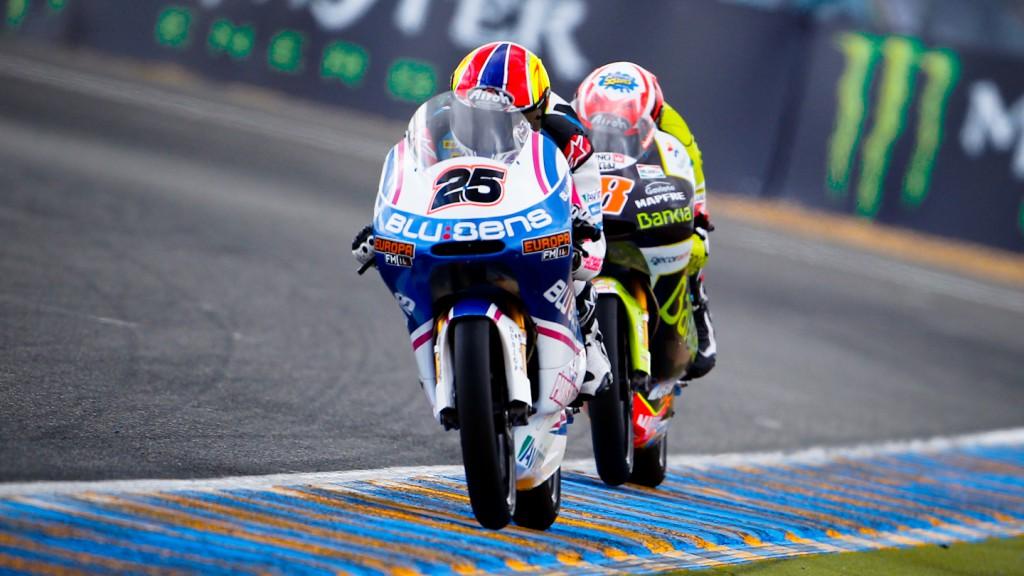 Maverick Viñales, Nico Terol, Pev-Blusens-SMX-Paris Hilton, Bankia Aspar Team, Le Mans RAC