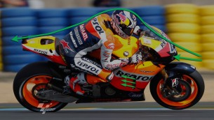 MotoGP aerodynamics with Rizla Suzuki and Repsol Honda Team
