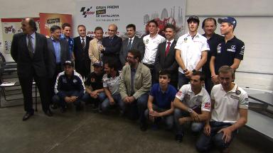 Local riders meet for official presentation of GP Aperol de Catalunya