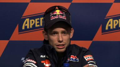2011 - Catalunya - Pre-event Press Conference - Casey Stoner