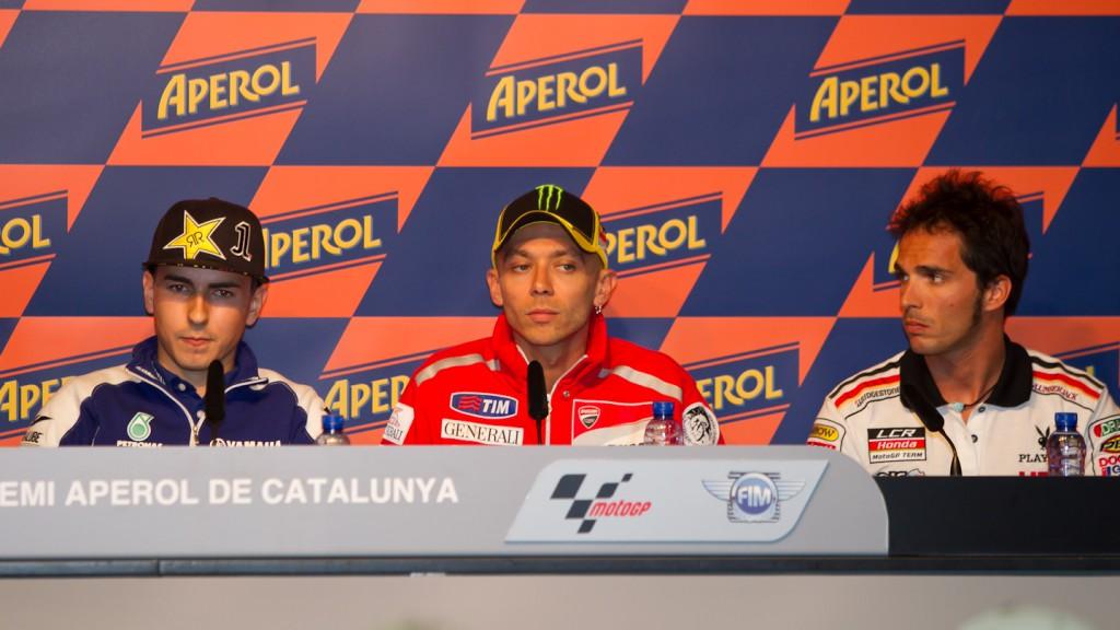 Lorenzo, Rossi, Elias, Yamaha Factory Racing, Ducati Team, LCR Honda MotoGP, Catalunya