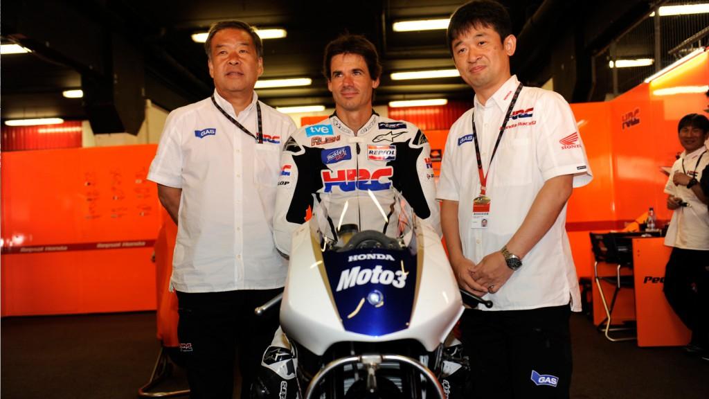 Honda NSF250R Moto3, Circuit de Catalunya