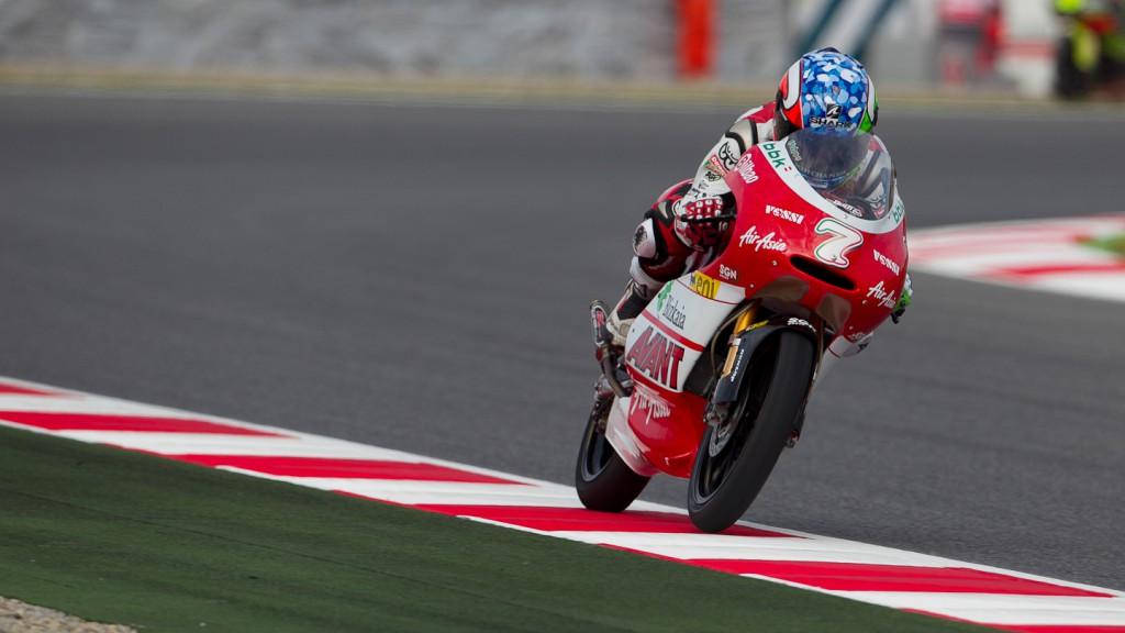 Efren Vazquez, Avant-AirAsia-Ajo, Catalunya Circuit