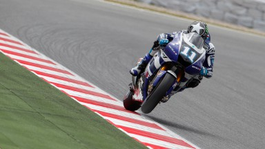 Ben Spies, Yamaha Factory Racing, Catalunya Circuit FP2