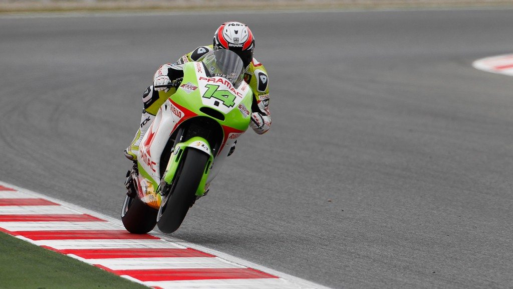 Randy de Puniet, Pramac Racing Team, Catalunya Circuit FP2