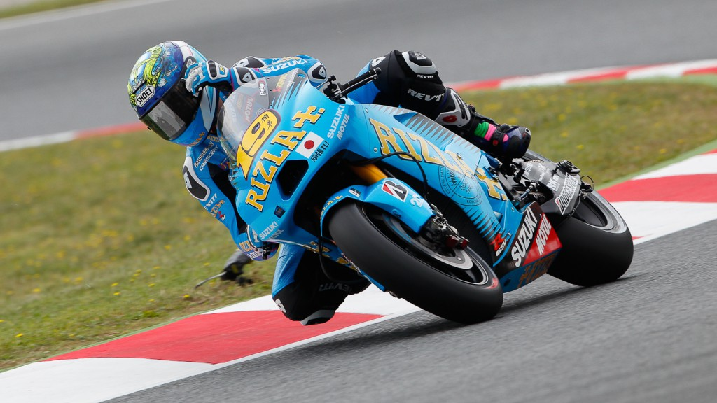 Alvaro Bautista, Rizla Suzuki MotoGP, Catalunya Circuit FP2