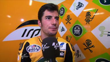 Catalunya 2011 - Moto2 - FP2 - Interview - Simone Corsi