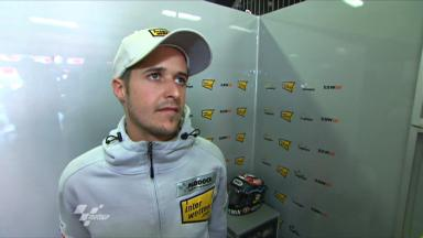Catalunya 2011 - Moto2 - FP2 - Interview - Thomas Luthi