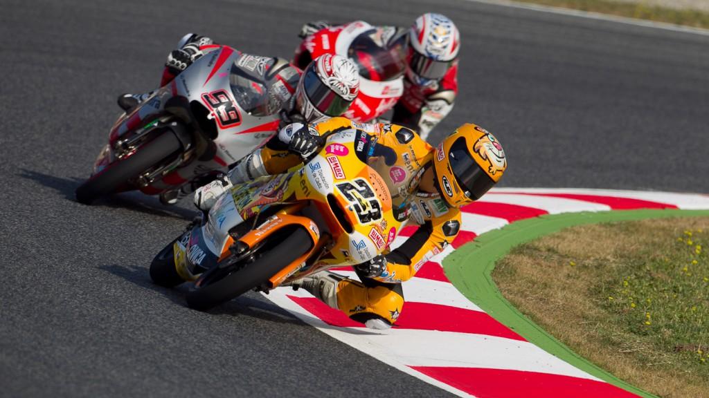 Alberto Moncayo, Andalucía Banca Civica, Catalunya Circuit FP1
