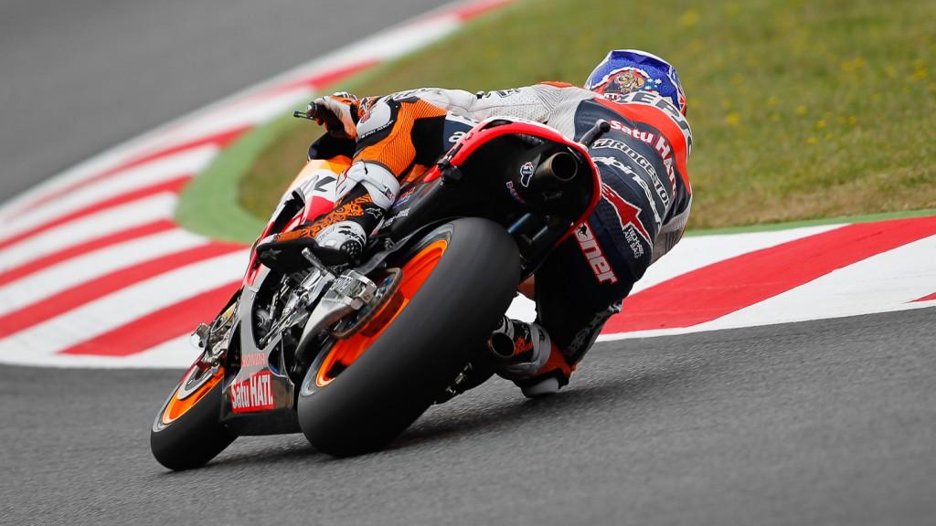 Casey Stoner, Repsol Honda Team, Catalunya Circuit FP2