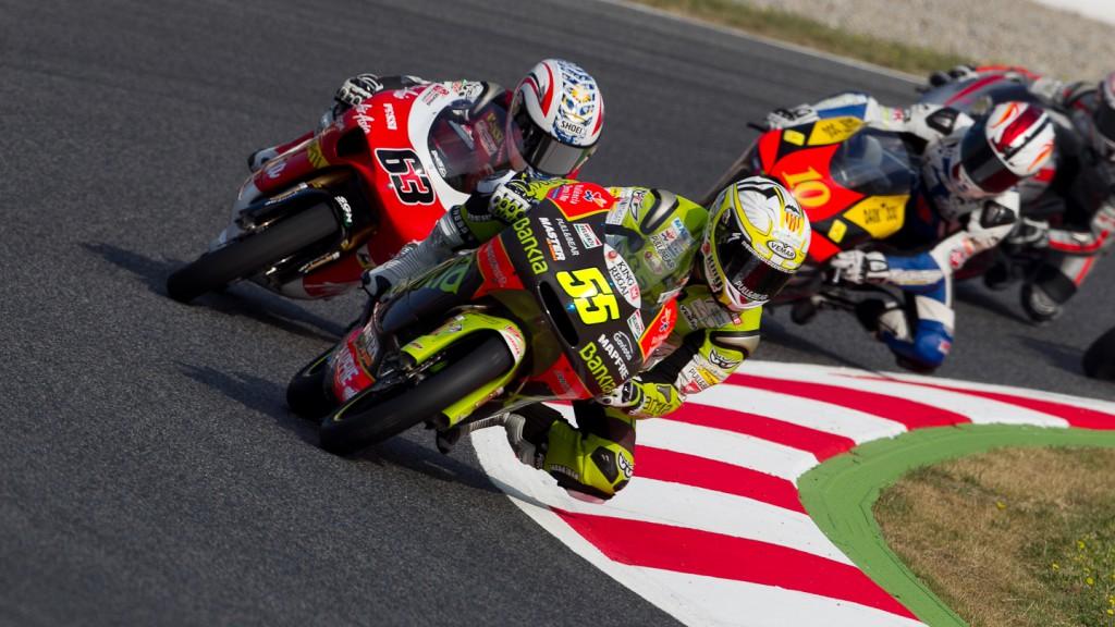Hector Faubel, Zulfahmi Khairuddin, Bankia Aspar Team, AirAsia-Sic-Ajo, Catalunya Circuit FP1