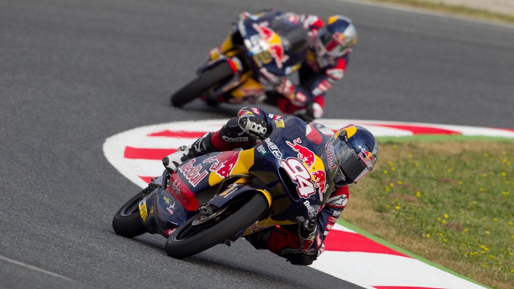 Jonas Folger, Red Bull Ajo MotorSport, Catalunya Circuit FP1