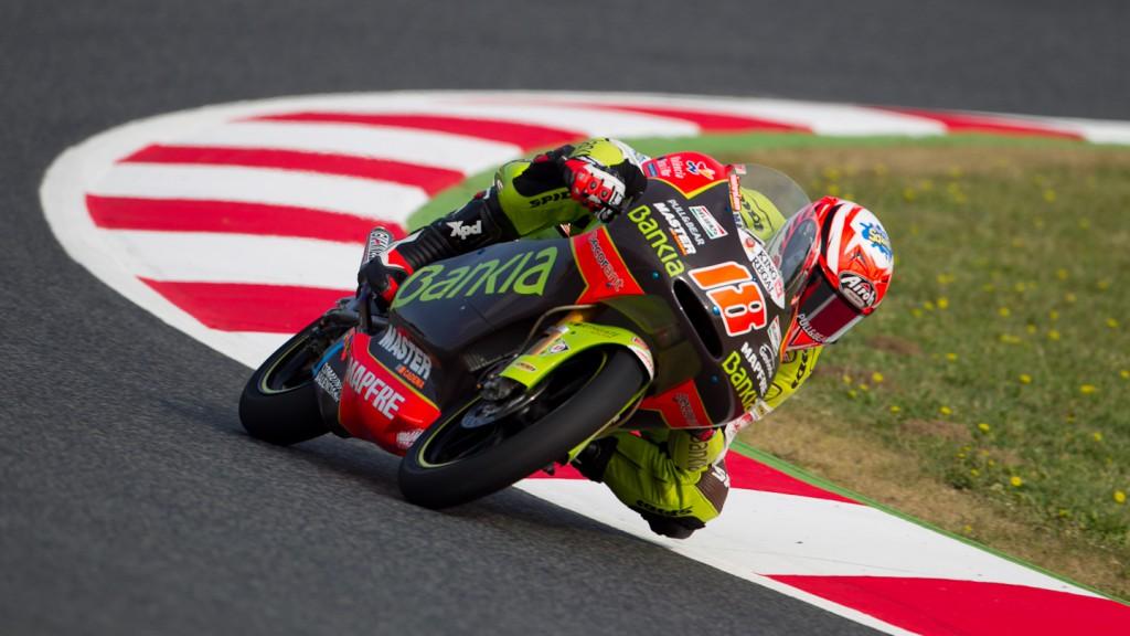 Nico Terol, Bankia Aspar Team, Catalunya Circuit FP1