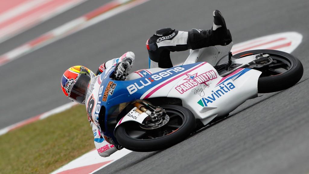Maverick Viñales, Pev-Blusens-SMX-Paris Hilton, Catalunya Circuit FP2