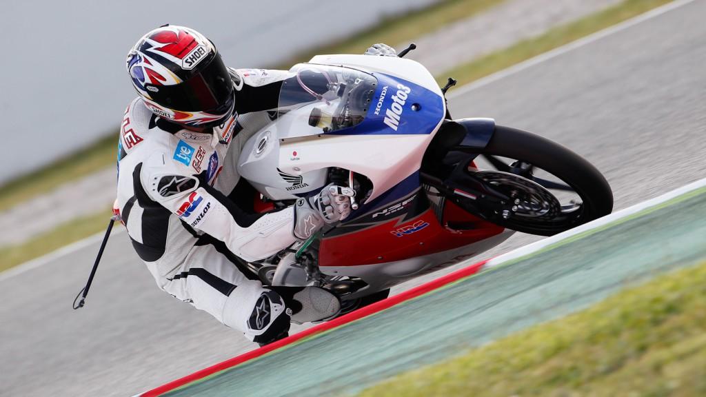 Alex Criville, Honda NSF250R Moto3, Circuit de Catalunya