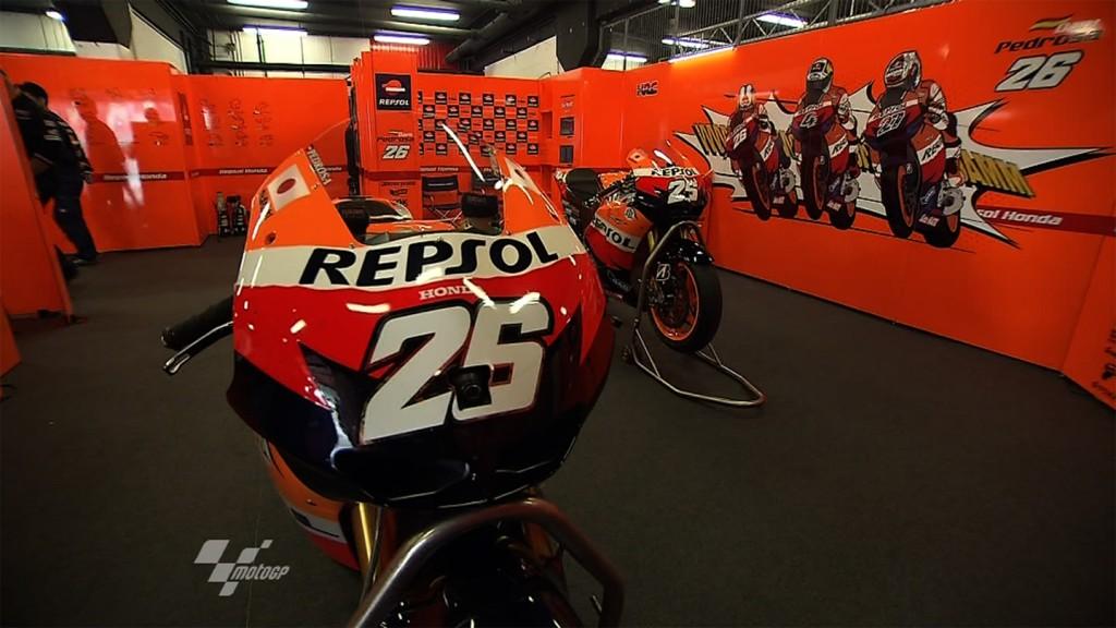 Dani Pedrosa\'s box, Repsol Honda