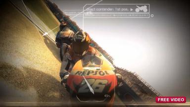 Dovizioso presents the Repsol Championship of the MotoGP videogame