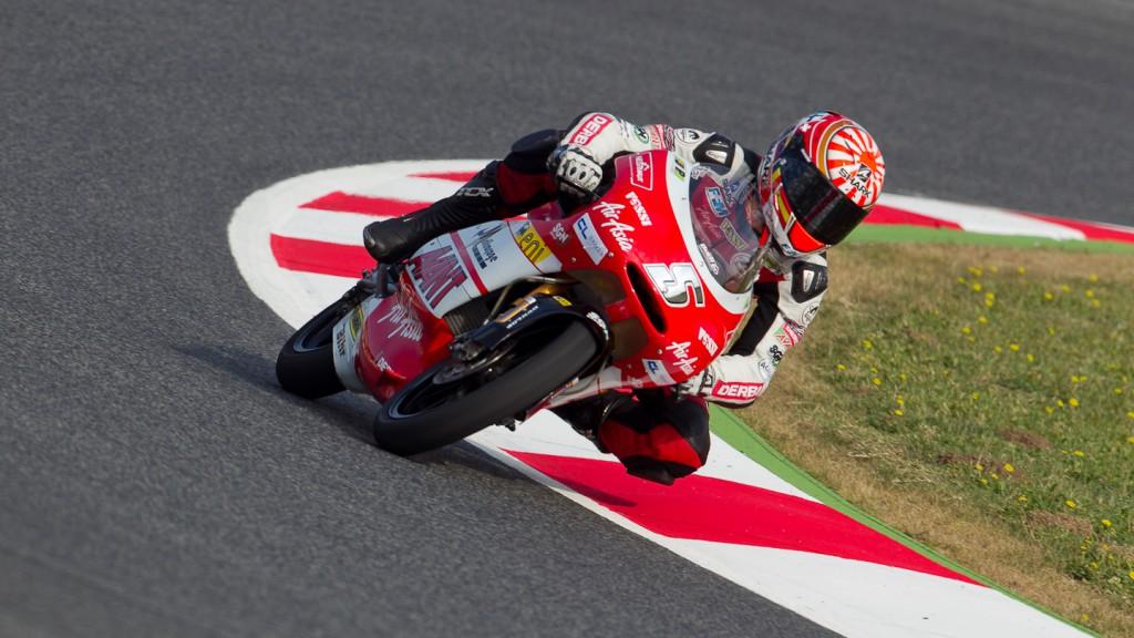 Johann Zarco, Avant-AirAsia-Ajo, Catalunya Circuit QP