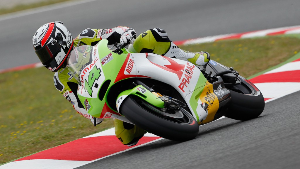 Randy de Puniet, Pramac Racing Team, Catalunya Circuit QP