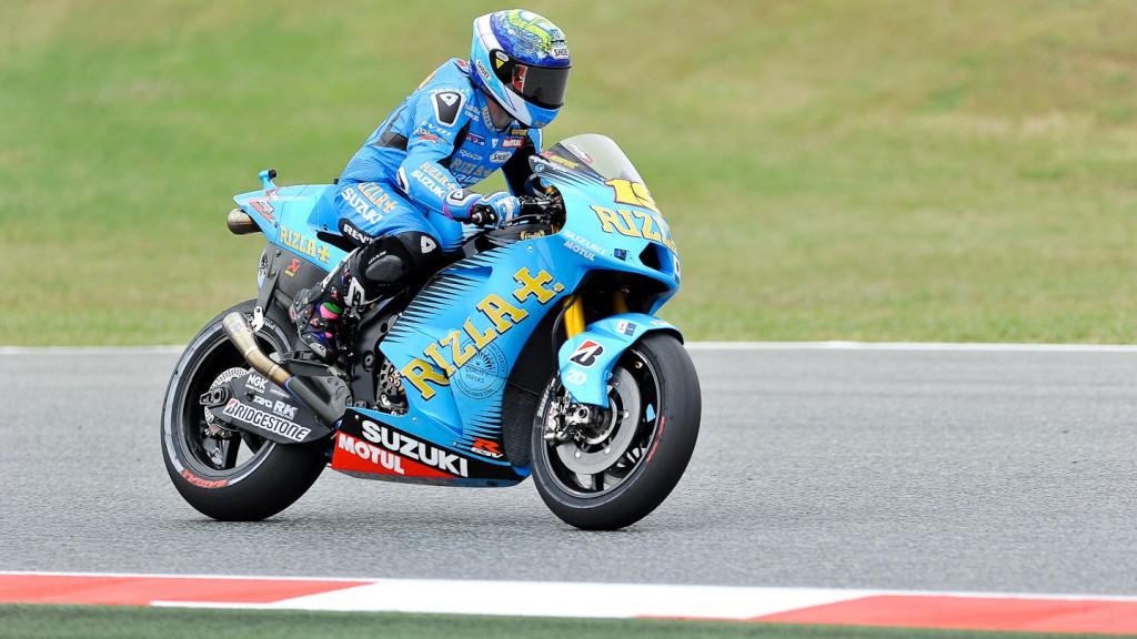 Alvaro Bautista, Rizla Suzuki MotoGP, Catalunya Circuit QP