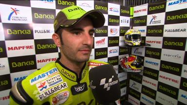 Catalunya 2011 - 125cc - QP - Interview - Hector Faubel