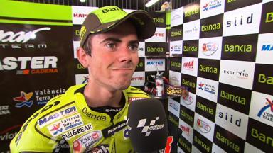 Catalunya 2011 - 125cc- QP - Interview - Nicolas Terol