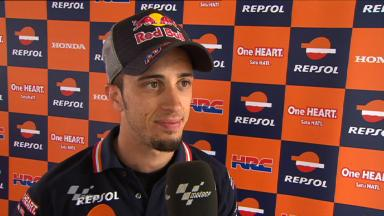 Catalunya 2011 - MotoGP - QP - Interview - Andrea Dovizioso