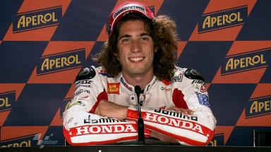 Catalunya 2011 - MotoGP - QP - Interview - Marco Simoncelli