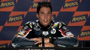 Catalunya 2011 - Moto2 - QP - Interview - Aleix Espargaro
