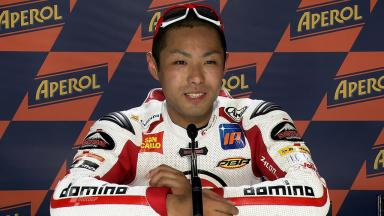Catalunya 2011 - Moto2 - QP - Interview - Yuki Takahashi