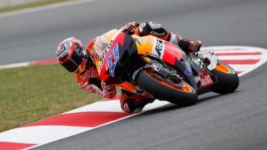 Casey Stoner, Repsol Honda Team, Catalunya Circuit FP3