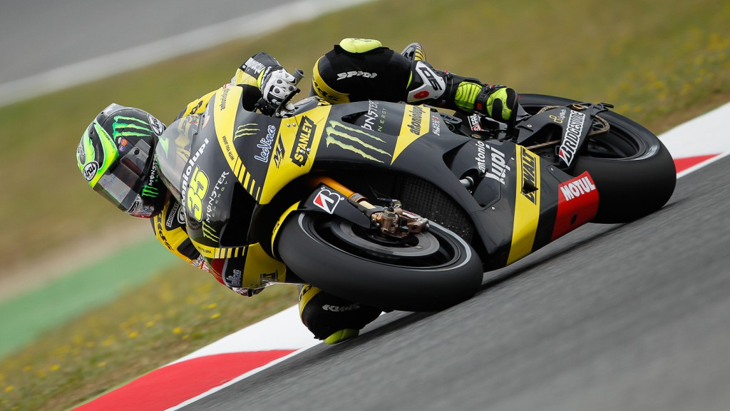 Cal Crutchlow, Monster Yamaha Tech 3, Catalunya Circuit QP