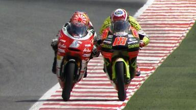 Catalunya 2011 - 125cc - Race - Action - Zarco and Terol