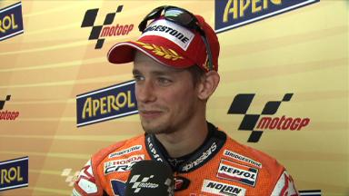 Catalunya 2011 - MotoGP - Race - Interview - Casey Stoner