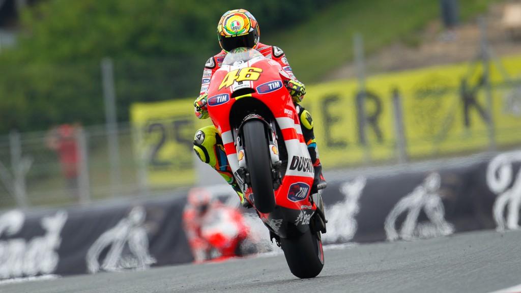 Valentino Rossi, Ducati Team, Catalunya Circuit QP