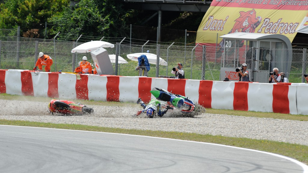 Julian Simon, Kenan Sofuoglu, Mapfre Aspar Team Moto2, Technomag-CIP, Catalunya Circuit RAC