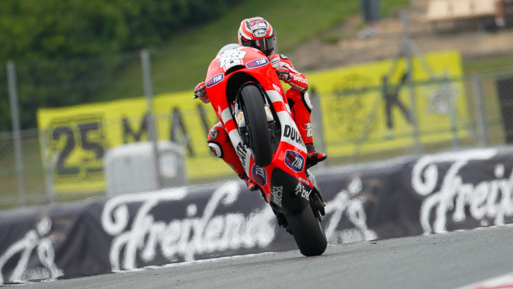 Nicky Hayden, Ducati Team, Catalunya Circuit QP