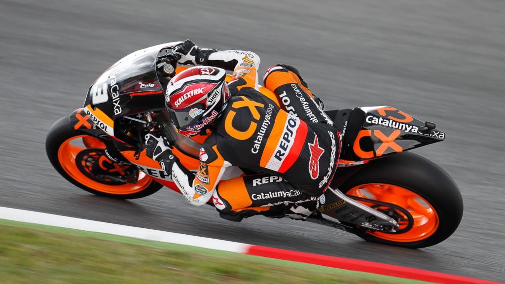 Marc Marquez, team Catalunya Repsol, Catalunya Circuit QP