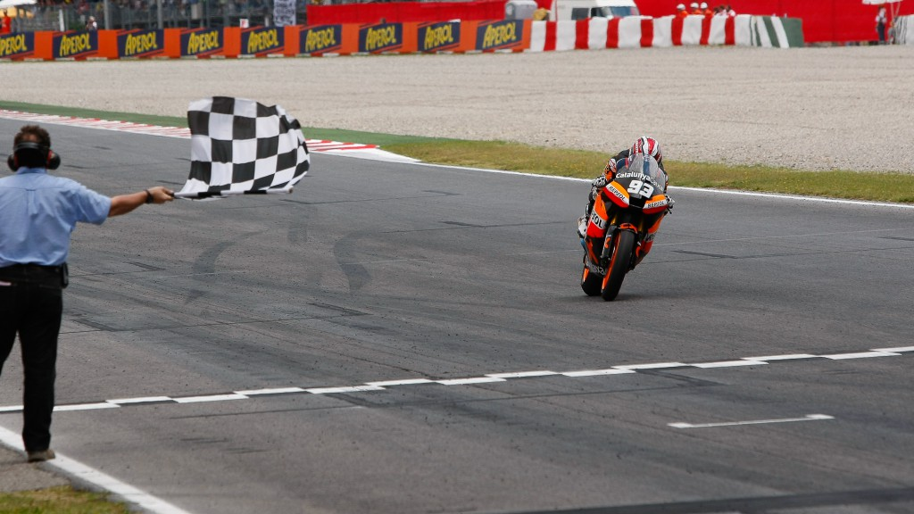 Marc Marquez, team Catalunya Repsol, Catalunya Circuit RAC