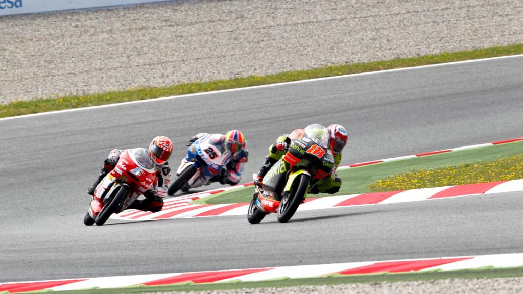 Terol, Zarco, Viñales, Bankia Aspar Team 125cc, Avant-AirAsia-Ajo, Blusens by Paris Hilton Racing, Catalunya Circuit RAC