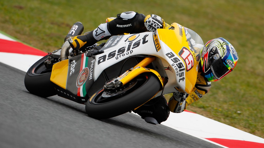 Alex de Angelis, JiR Moto2, Catalunya Circuit RAC