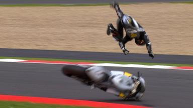 Silverstone 2010 - MotoGP - Warm Up - Action - Hiroshi Aoyama