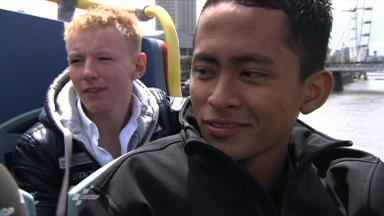 Silverstone 2011 - 125cc - preevent - Interview - Zulfahmi Khairuddin
