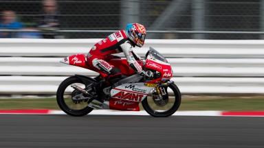 Johann Zarco, Avant-AirAsia-Ajo, Silverstone FP1