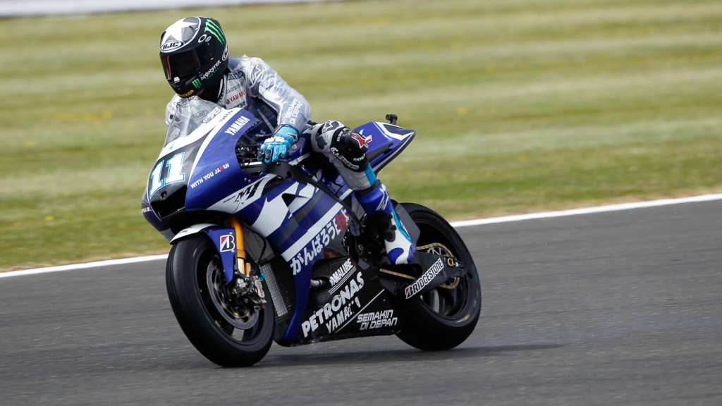 Ben Spies, Yamaha Factory Racing, Silverstone FP2