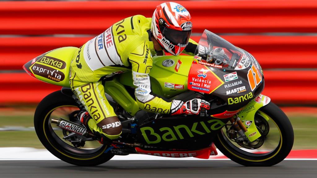 Nico Terol, Bankia Aspar Team, Silverstone