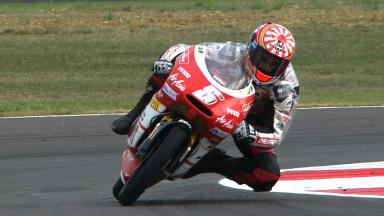 Silverstone 2011 - 125cc - FP2 - Highlights